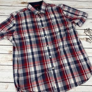 Victorinox Mens Button Up Shirt Size Large Plaid